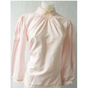 Pink Vintage Top Size Large